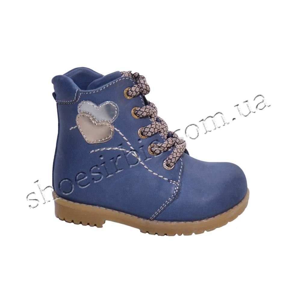 ОРТО черевики зимові №409 сині